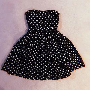 Dresses & Skirts - • p o l k a  d o t  m i n i  d r e s s •